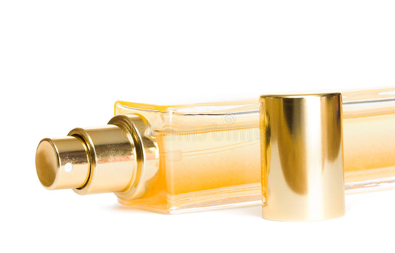 Frasco do perfume fotografia de stock royalty free