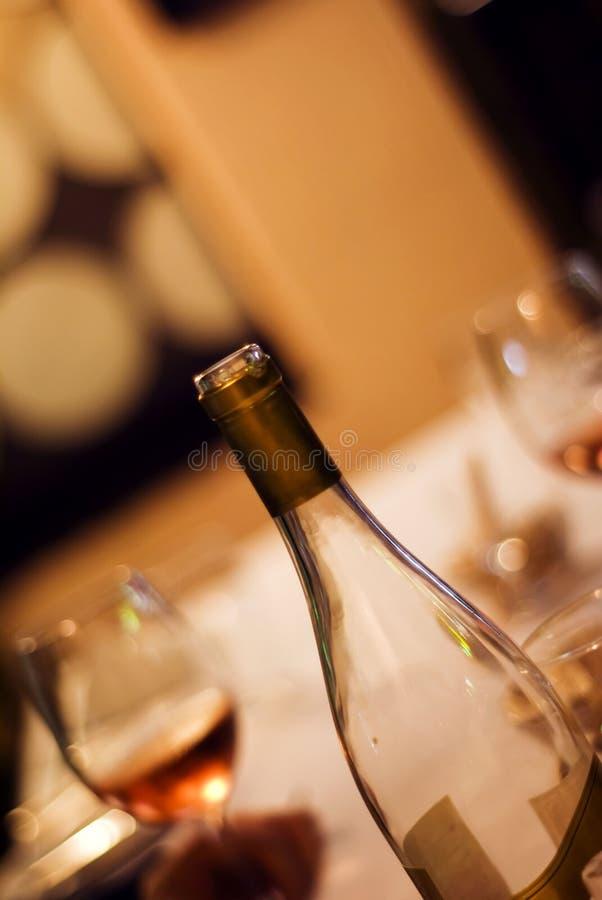 Frasco do vinho fotos de stock royalty free
