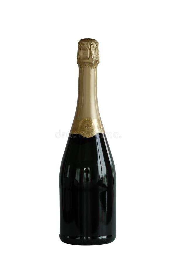Frasco do vinho sparkling imagens de stock royalty free