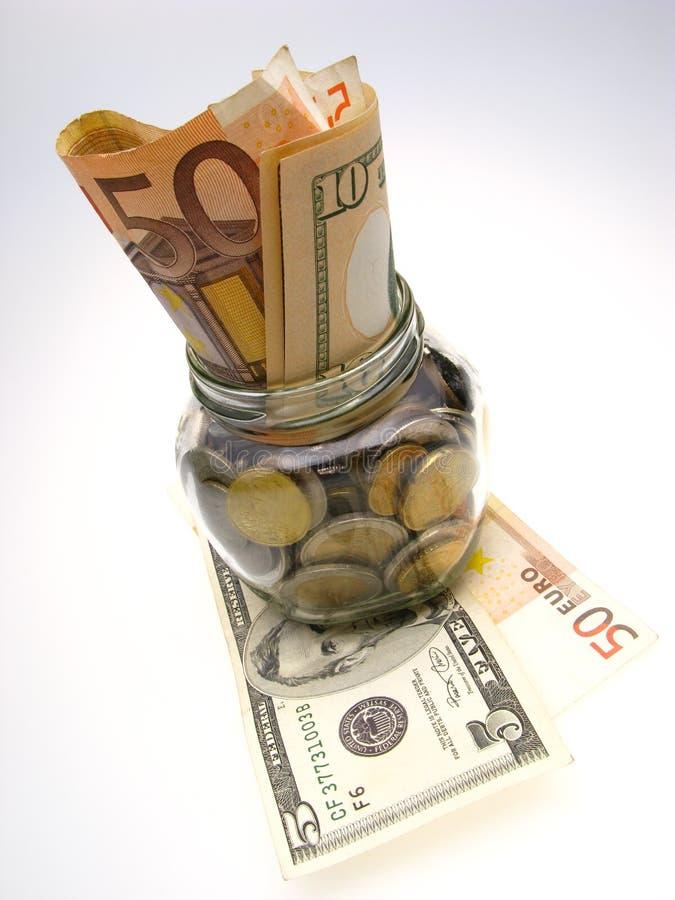 Frasco e monay imagens de stock royalty free
