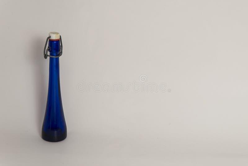 Frasco mágico azul del mana fotografía de archivo libre de regalías