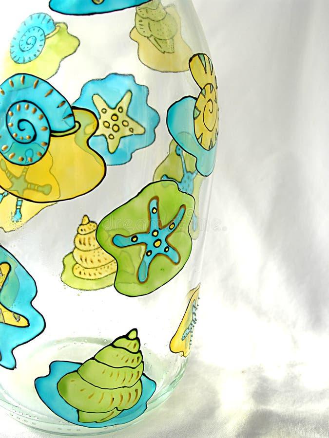 Download Frasco pintado imagem de stock. Imagem de frascos, starfish - 59645