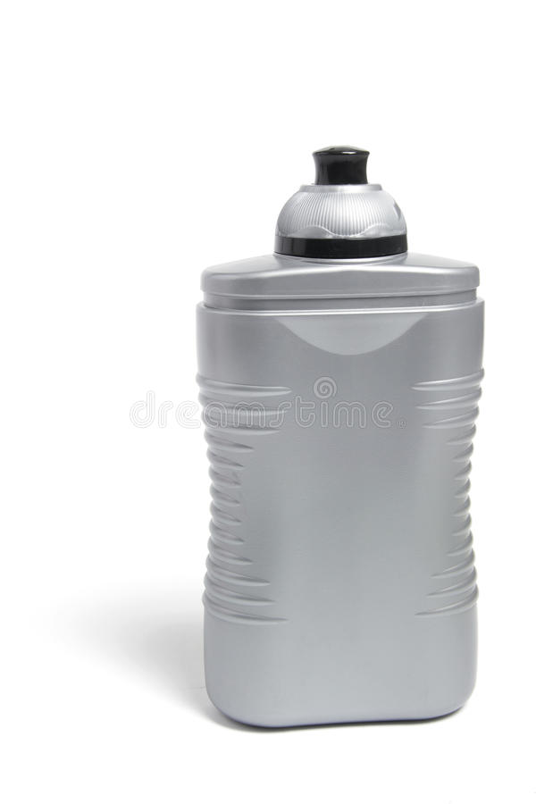 Frasco plástico da bebida foto de stock