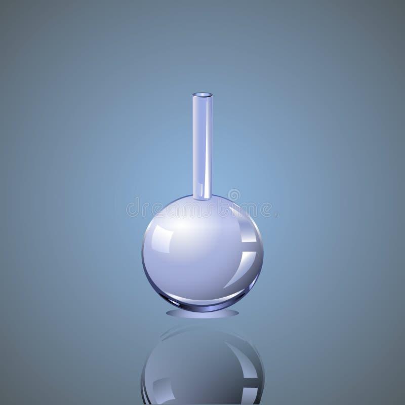 Frasco químico foto de archivo