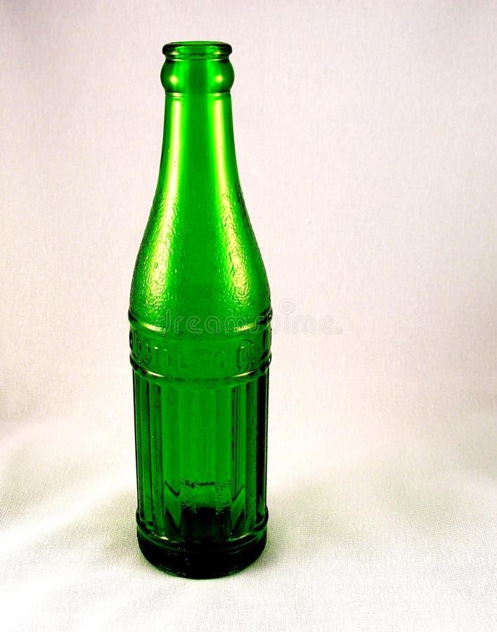 Frasco verde imagens de stock