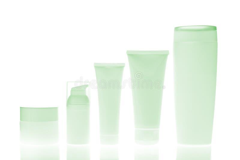 Frascos cosméticos imagem de stock royalty free