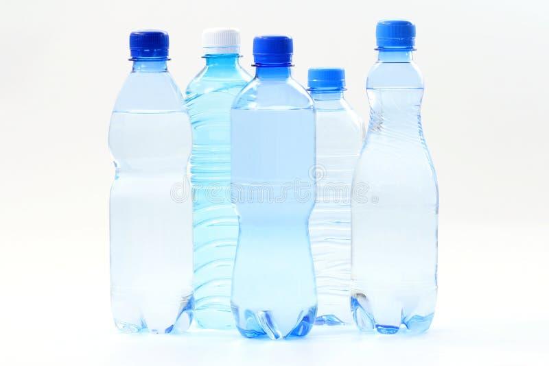 Frascos da água fotografia de stock