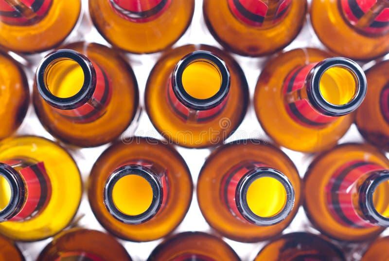 Frascos de cerveja foto de stock royalty free