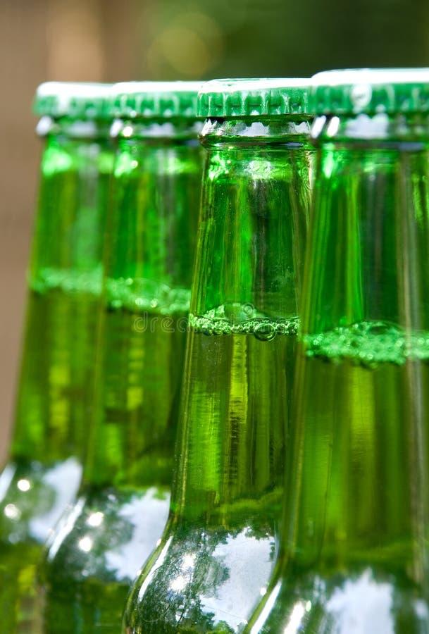 Frascos de cerveja foto de stock