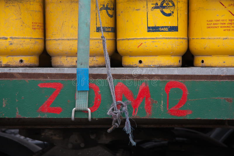 Frascos de gás imagens de stock royalty free