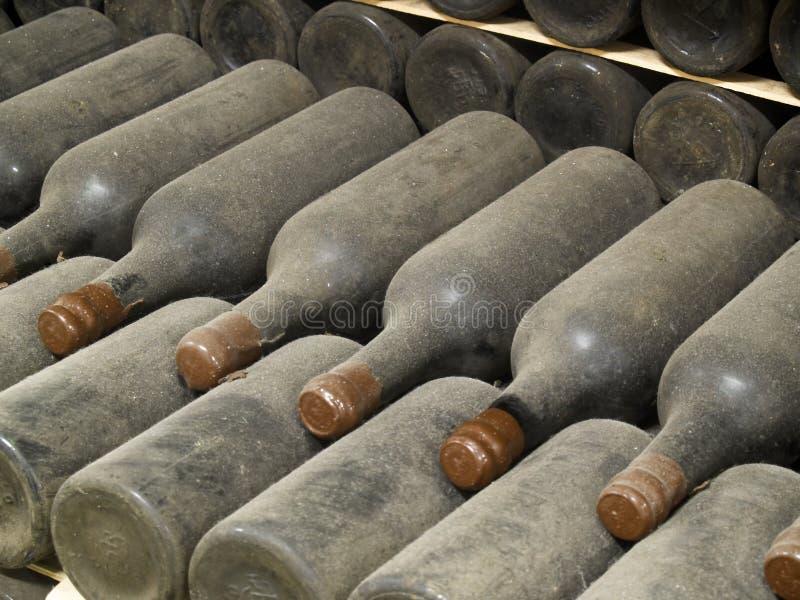 Frascos de vinho fotos de stock royalty free