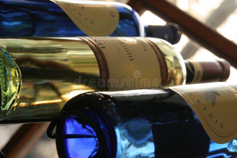 Frascos de vinho imagem de stock