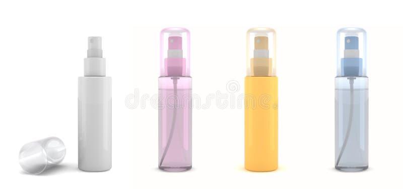 Frascos do perfume ilustração do vetor