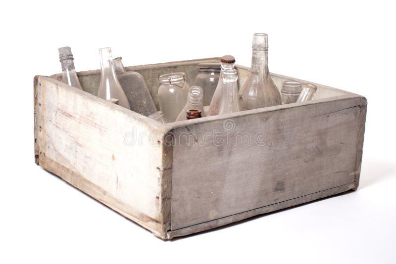Frascos e frascos fotografia de stock royalty free