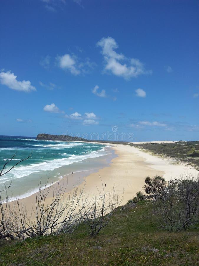 Fraser Island beach stock photos