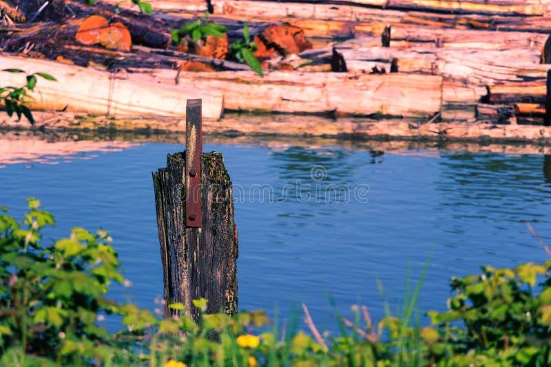 Fraser River Logging photos libres de droits