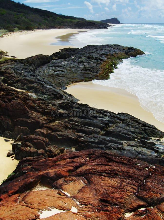 fraser wyspy seascape zdjęcie royalty free