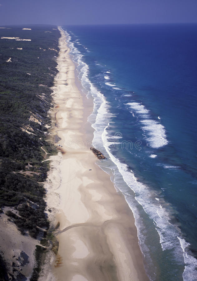 Frasereiland Queensland, Australië stock fotografie