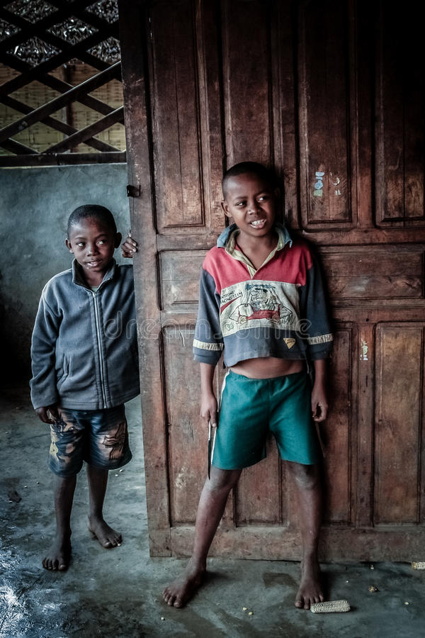 Fratelli malgasci fotografie stock libere da diritti