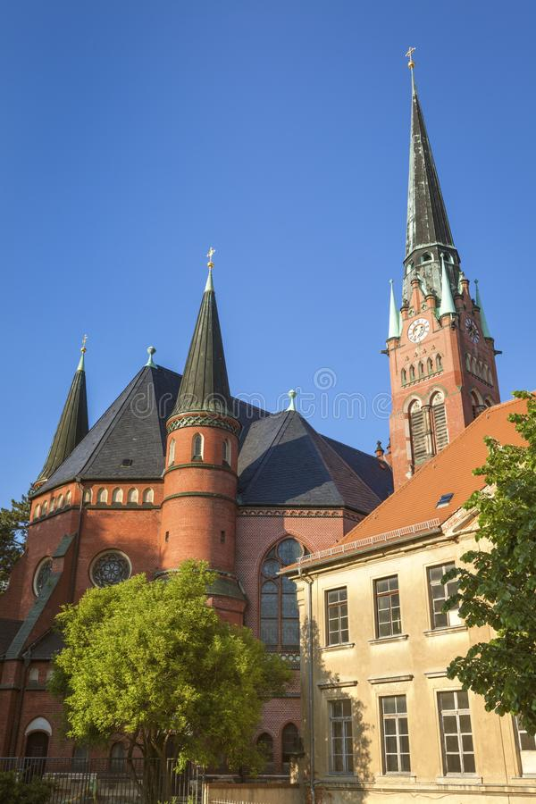 Fraternity Church in Altenburg. Altenburg, Thuringia, Germany stock photography
