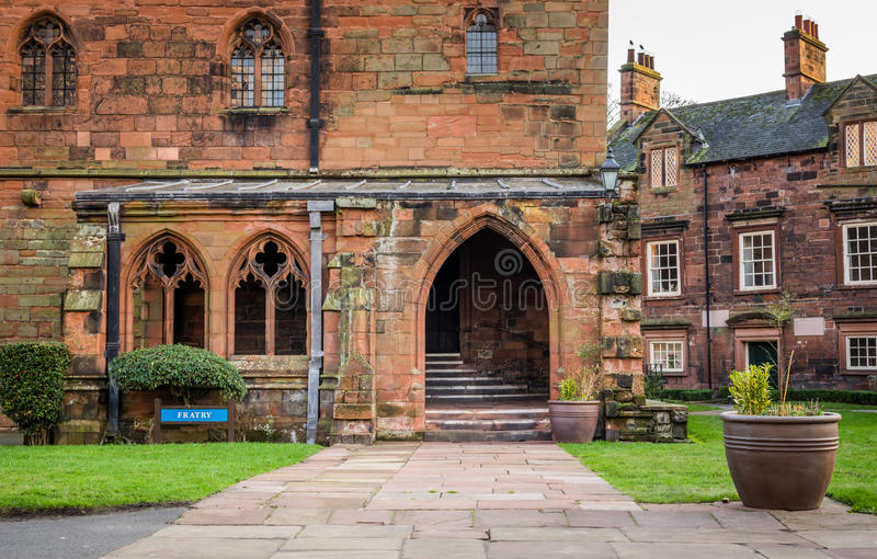 Fratry bei Carlisle Cathedral stockfotos