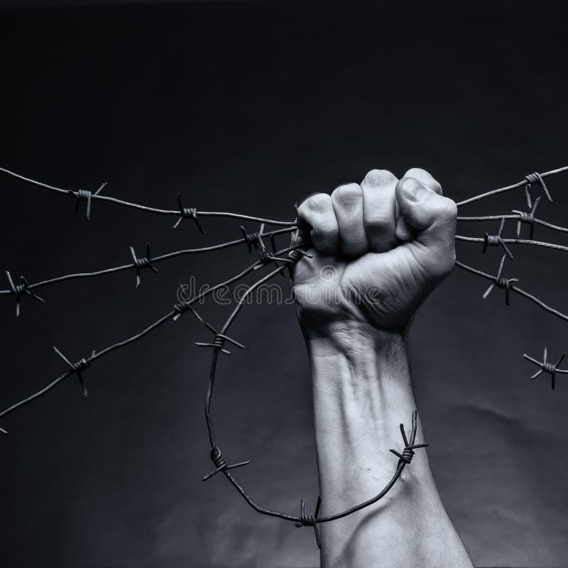 Frattura di giustizia fotografia stock libera da diritti