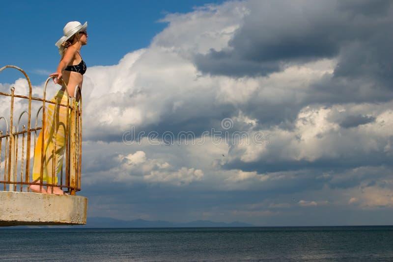 Frau lizenzfreies stockfoto