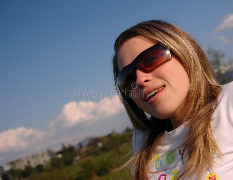 Frau lizenzfreie stockfotografie