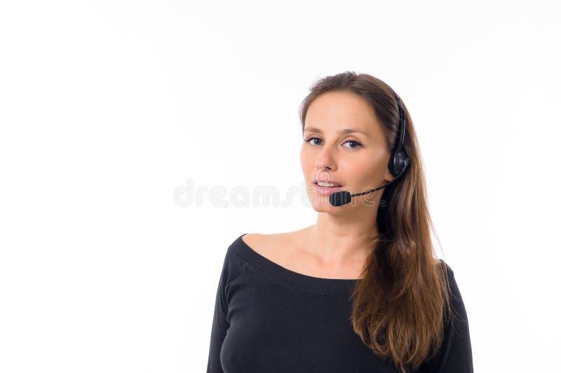 Frau in der Unterstützung lizenzfreies stockbild