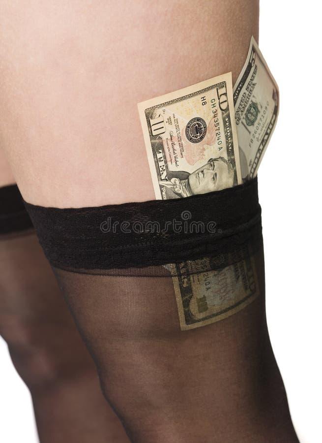 Download Frau mit Geld stockfoto. Bild von geld, mädchen, bargeld - 9098338