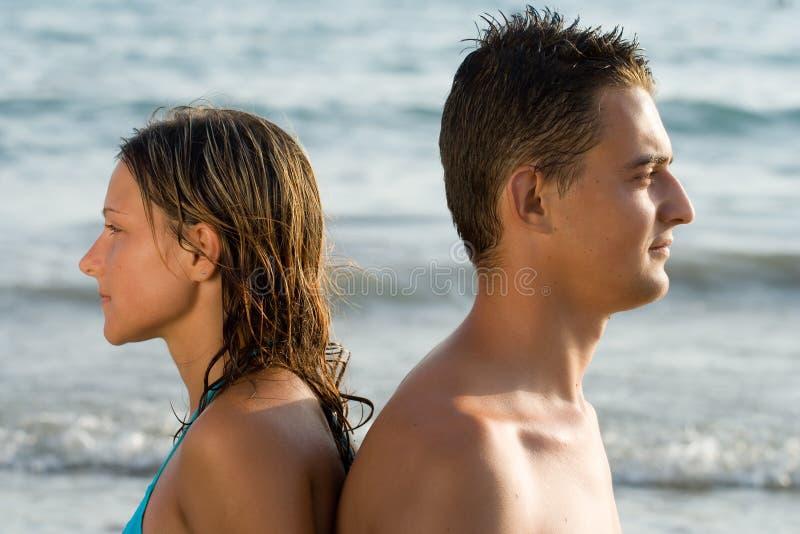 Frau und Mann lizenzfreie stockbilder