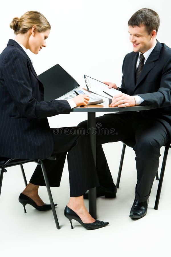 Frau und Mann lizenzfreies stockbild