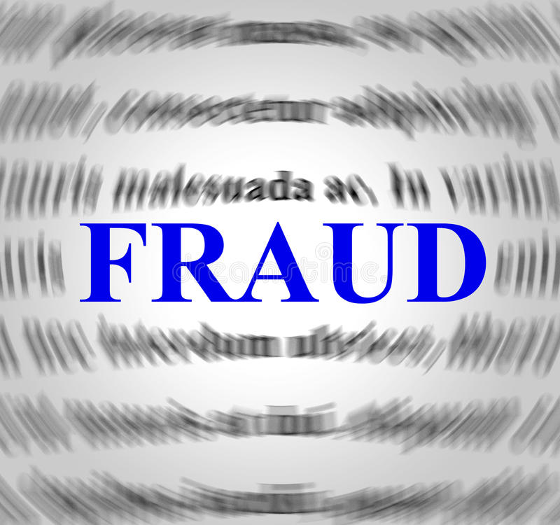 Download Fraud Definition Indicates Rip Off And Con Stock Illustration    Illustration Of Fraudulent, Hustle