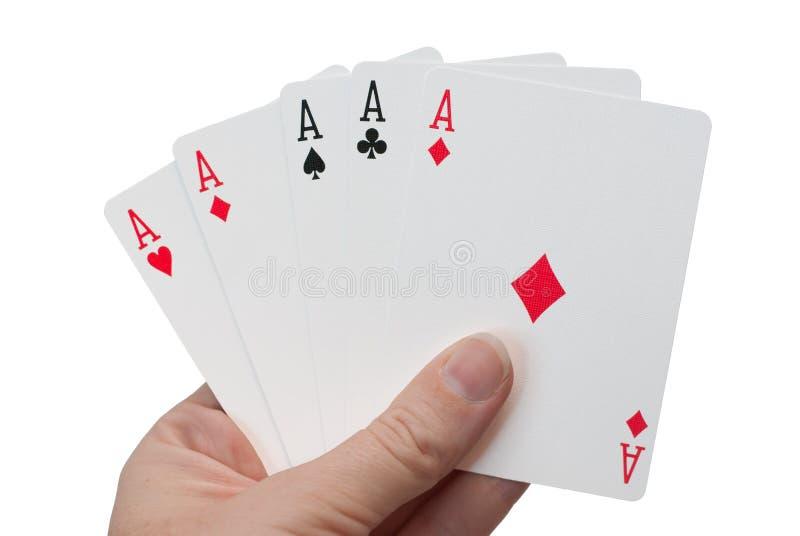 Fraude - cinq as photos stock