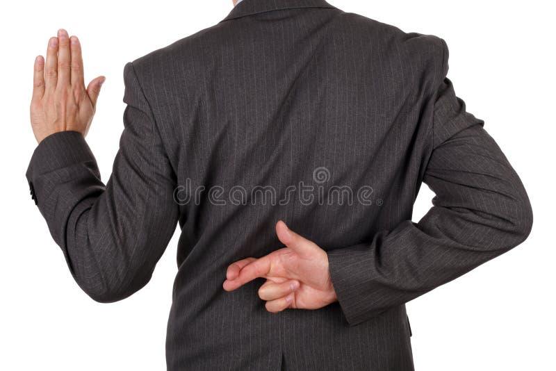 Fraude d'affaires photos stock