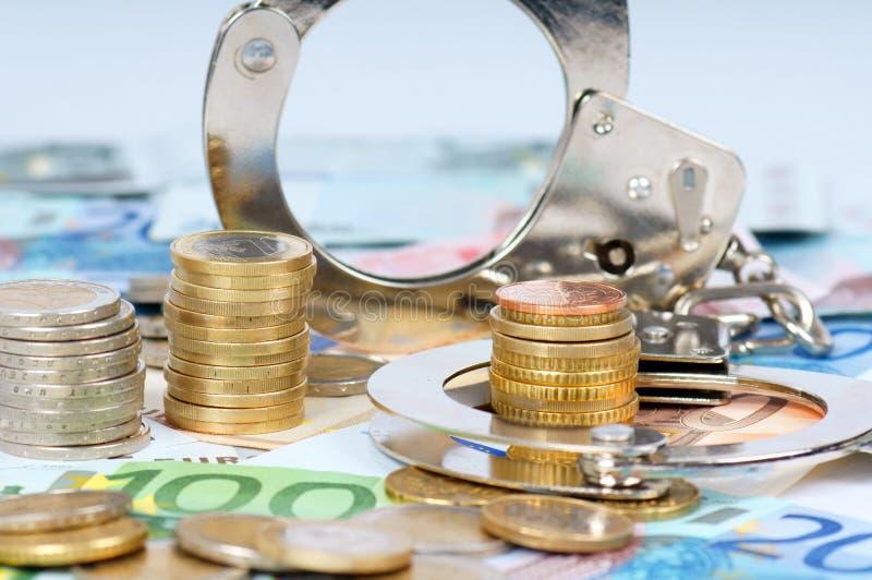 Fraude económico imagenes de archivo