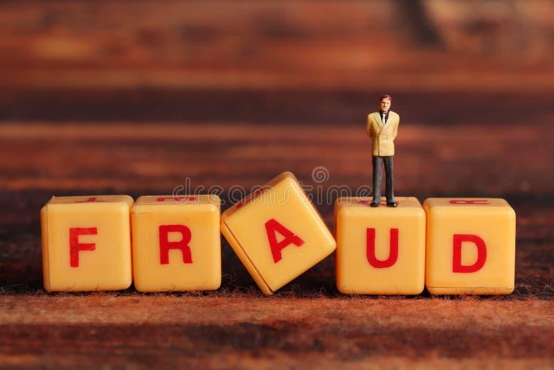 fraude stock foto