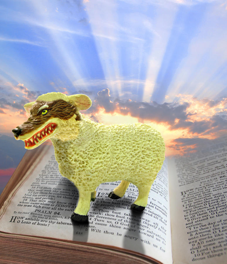 Fraude religiosa imagens de stock royalty free
