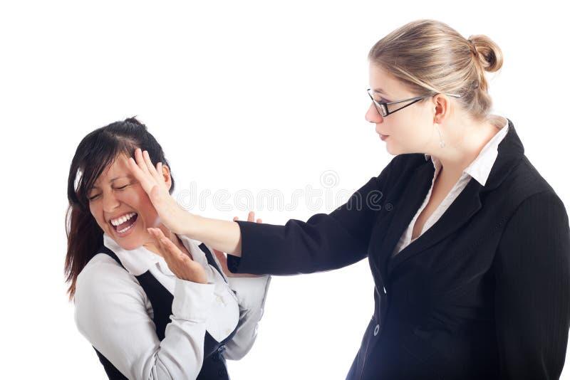 Frauen$überschneidung stockbild