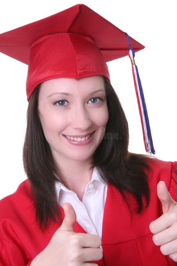 Frauen-Absolvent stockbilder