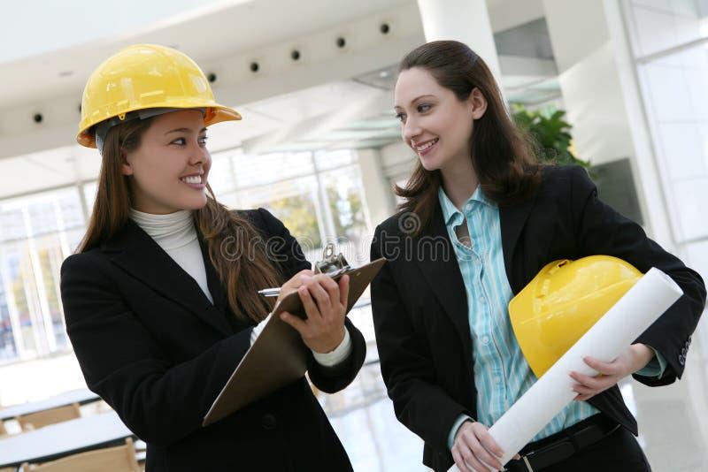 Frauen-Architekten lizenzfreies stockfoto
