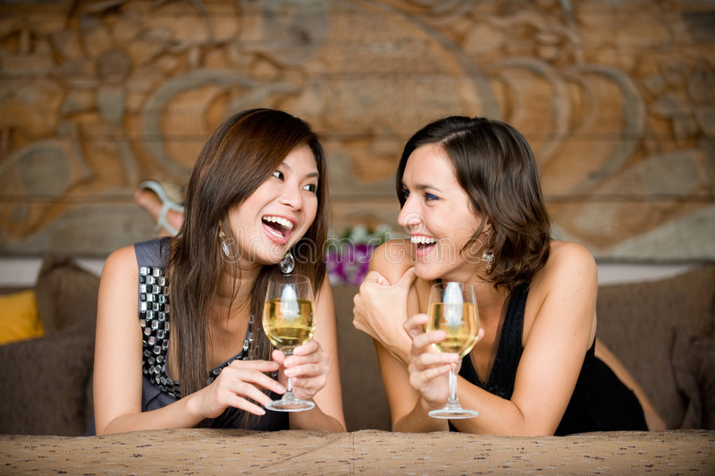 Frauen auf Ferien stockfotos