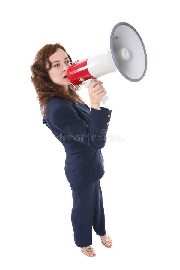 Frauen-Führer stockfoto