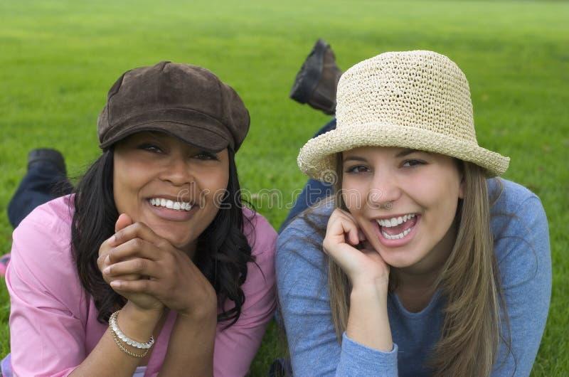 Frauen-Freunde stockfotografie