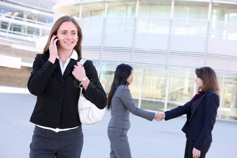 Frauen-Geschäfts-Team stockfotos