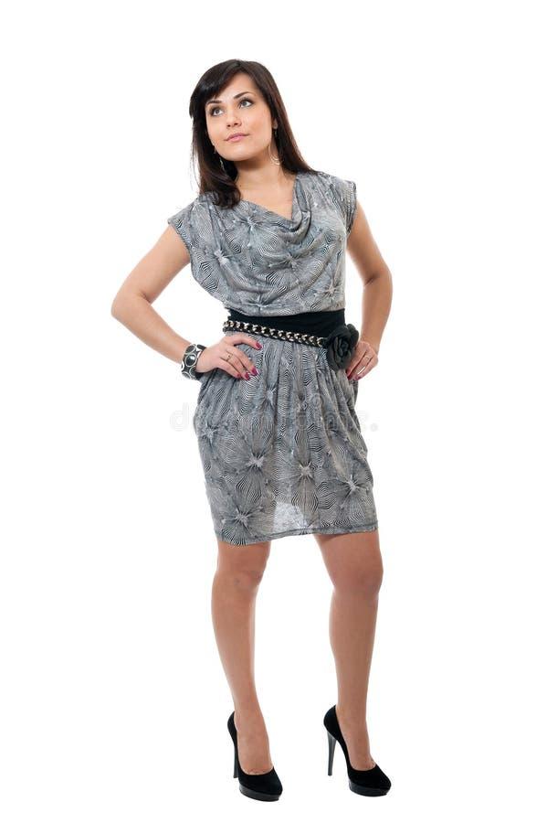 Frauen im Verzierungkleid lizenzfreie stockfotos