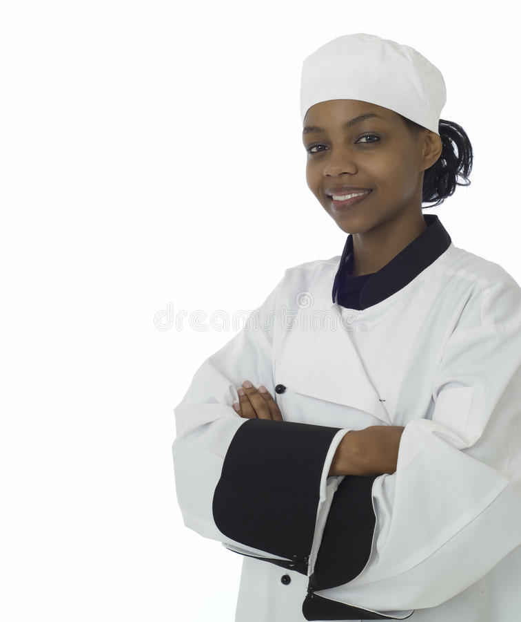 Frauen- oder Frauchef stockfoto