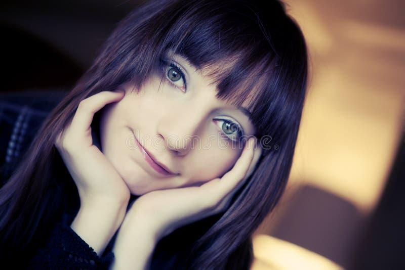 Frauen-Portrait stockbild
