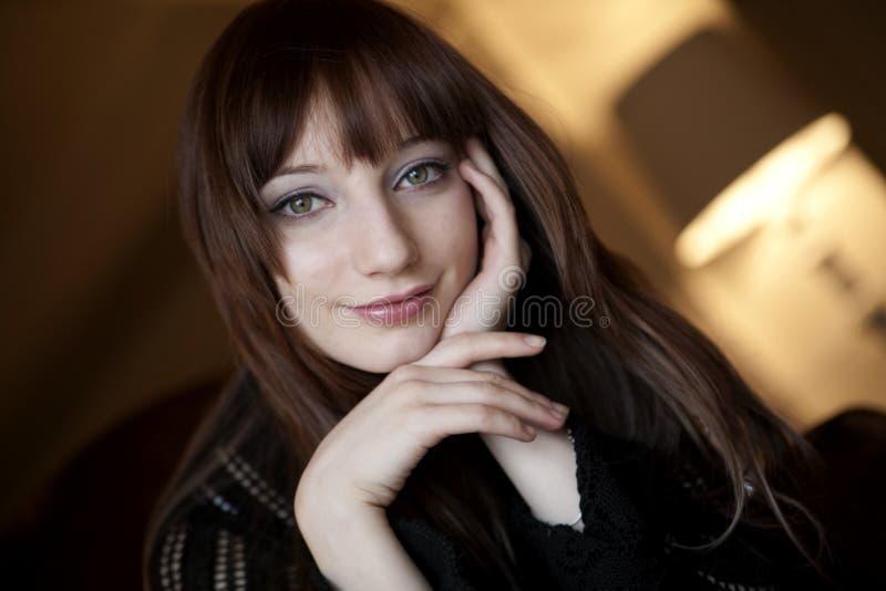Frauen-Portrait lizenzfreie stockbilder