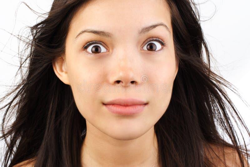 Download Frauenanstarren stockbild. Bild von attraktiv, facial - 8993499